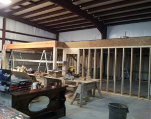 Building a Woodworking Shop