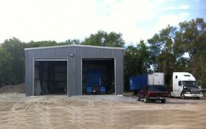 steel building is the ideal choice for building a workshop