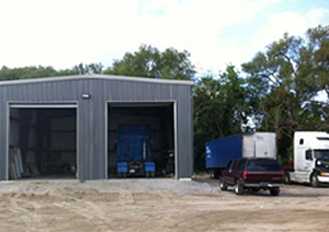 Steel Buildings: Perfect as a Mechanics Garage
