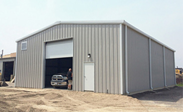 Steel Garage Kits for Vehicle Service Shops