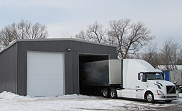 Building A Steel Garage for Your Vehicle Service Shop