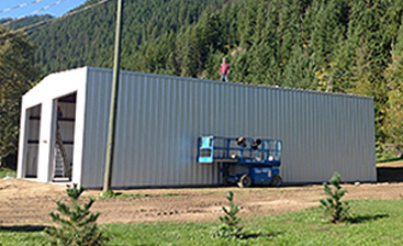 Steel Siding for Commercial Buildings in Canada