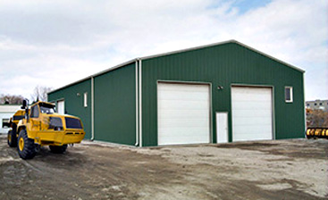 Straight Wall Steel Buildings