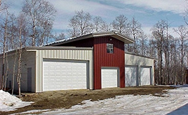 Commercial and Personal Uses for Metal Garage Kits