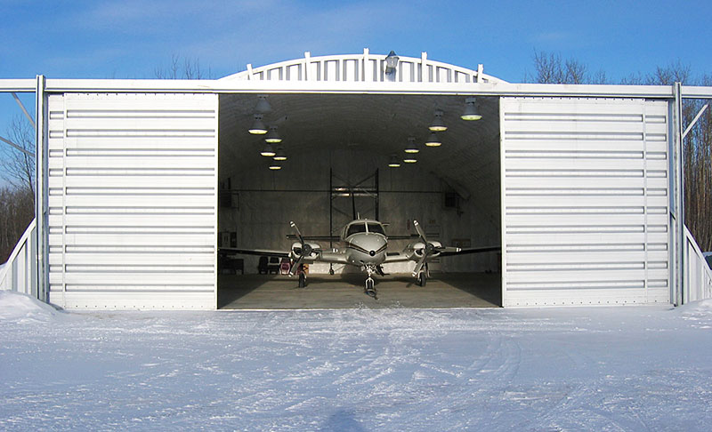 Prefab Metal Airplane Hangar