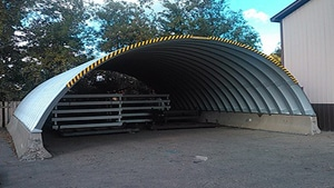 Arched Metal Roof Systems