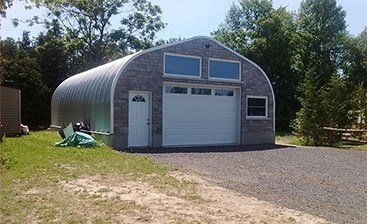 The Advantages of Prefabricated Metal Garage Kits