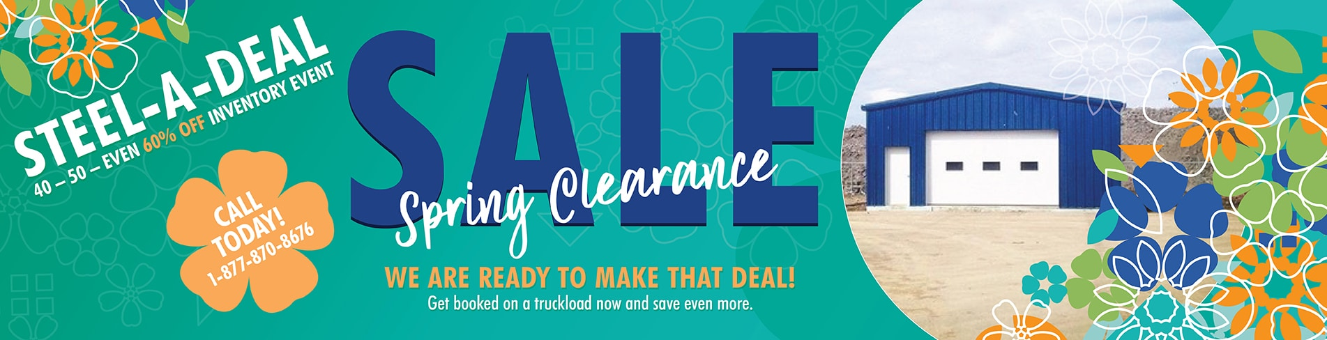 Toro Spring Steal-A-Deal Sale