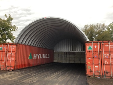 Container Cover 25' x 40'